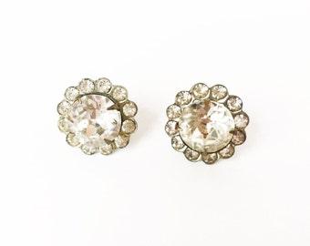 Art Deco Earrings, Bridal Earrings, Vintage Earrings, Crystal Earrings, Rhinestone Earrings, Art Deco Bridal Earrings, Vintage Crystal