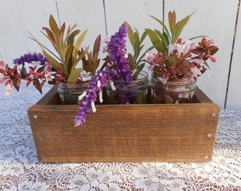 Pallet Planter Box - Early American