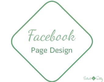 Custom Facebook Page Design | Social Media Graphic Design | Facebook Timeline | FB Header | Facebook Avatar | Facebook Cover | FB Profile