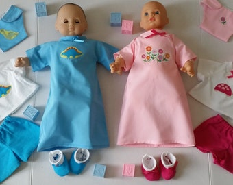 AG Bitty Baby/15 Inch Twin Dolls Sleep And Play Sets