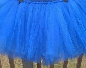 Blue Tutu Girls tutu Adult tutu blue tutu Super Women tutu  Super hero tutu