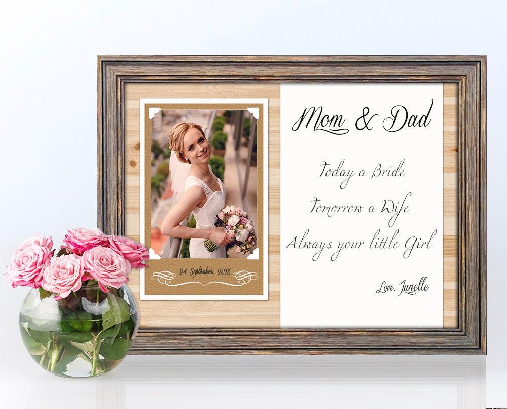 Parents Wedding Gift Ideas: Parents Wedding Gift-Parents Thank You Gift Wedding Gift For