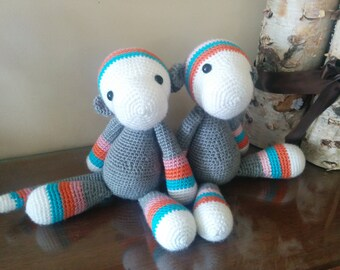 Adorable Crochet Monkeys