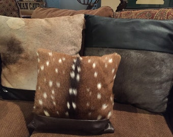 Animal Skin Pillows from your skin