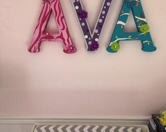 Foam Letters Nursery Foam Decor