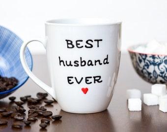 Best Husband Ever Mug - Personalized Gift For Husband - Anniversary Gift Husband
