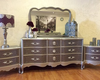 Beautiful Dresser/Night stands - Free Shipping to lower 48 states