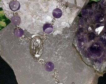 Amethyst Chaplet Rosary