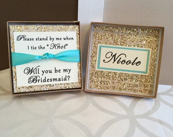 Will You Be My Bridesmaid Box (Tie the Knot)