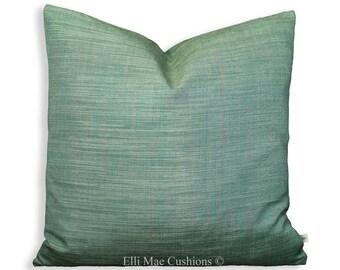 Harlequin Celeste Plain Blue Seagrass Designer Fabric Throw Cushion Pillow Cover