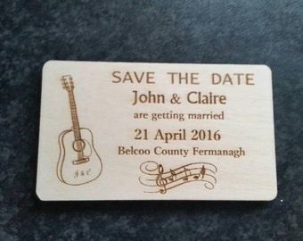 Save the date magnet set of 10