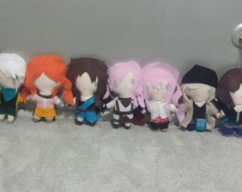 Final Fantast 13 Plush Chibi Kawaii Cute