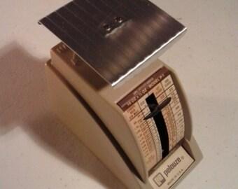 Vintage 1985 Pelouze Model P-1 Miniature Counter Top Scale 16oz x 1/2 oz