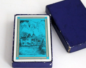 Illustrated Playing Cards, Deck of Cards, Historical Homes, Standard Poker Cards
