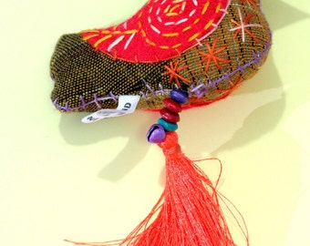 Bird, bag Charm,keyholder  - 6223