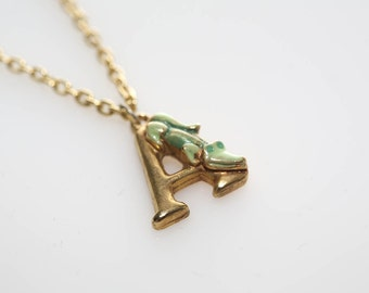 A Is For Alligator Necklace