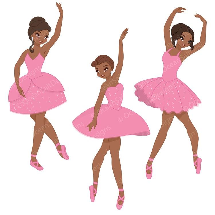 Ballerina Clipart Ballet Clipart Ballet Clip By Oceansaltdesigns