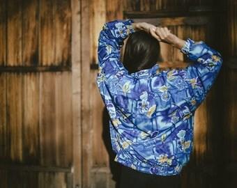 Oversize Floral Jacket
