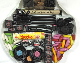 LIQUORICE LOVERS Tasting Box  - Father's Day - Gift for Liquorice Lovers - Gifts for Dads - Gift Box of Liquorice - Birthday Gift