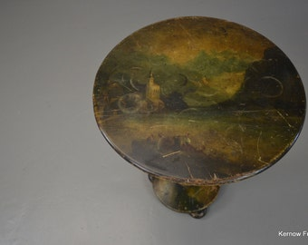 Victorian Hand Painted Occasional Table