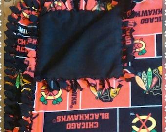 Blackhawks Blanket
