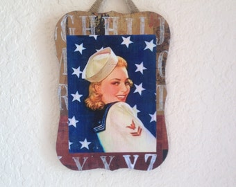 Pin-Up girl Plaques