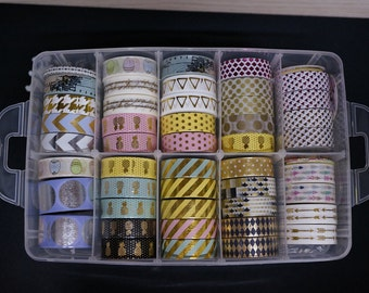 Washi tape Storage Case / Masking Tape Organizer / Washi Tape Holder TZ1021