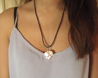 Sea Swept Stone Necklace