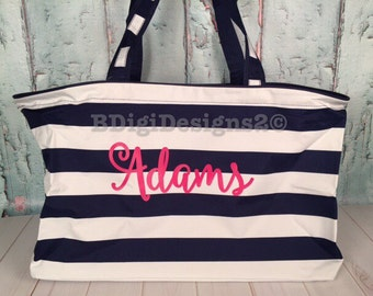 Personalized Utility Tote