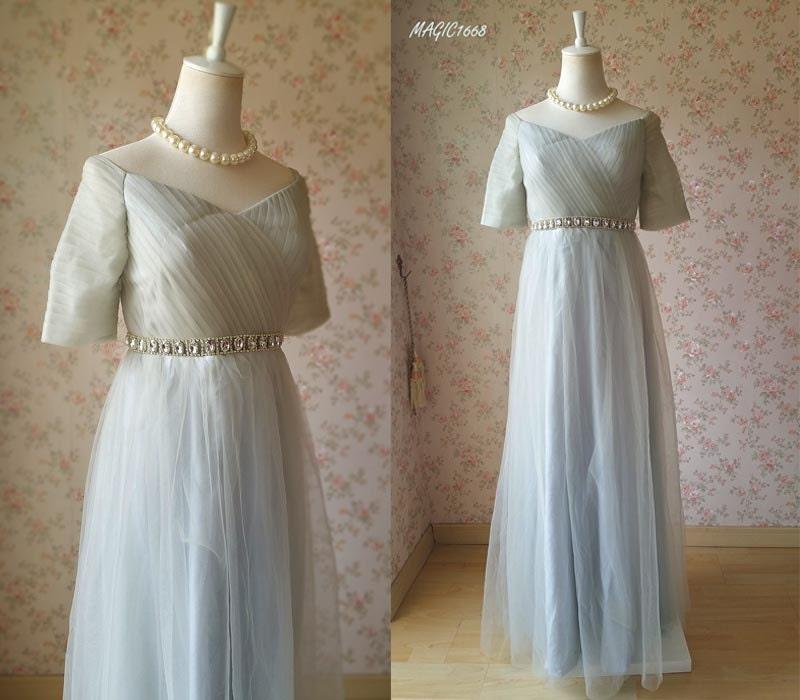 Gray Plus Size Maternity Dress, High Waist Tutu Maternity Dress ...