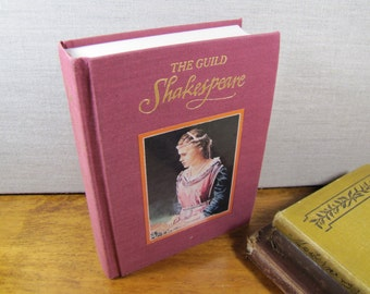 Vintage Book - The Guild Shakespeare - Romeo and Juliet - Titus Andronicus - 1989 Edition