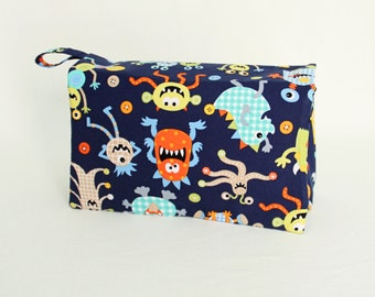 Nappy Wallet | Aliens | Nappy Clutch, Diaper Clutch, Diaper Wallet, Baby Change, Handmade, Baby Shower Gift, Nappy Bag, Diaper Bag, Baby Bag
