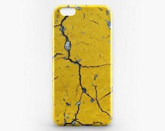 Yellow iPhone 8 Case iPhone X Case Stone Phone Cover Style iPhone 7 Plus iPhone 6 Case iPhone 7 iPhone SE Case iPhone 5S 5C Case Galaxy S8