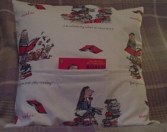 Matilda Kids Reading Cushion with Book