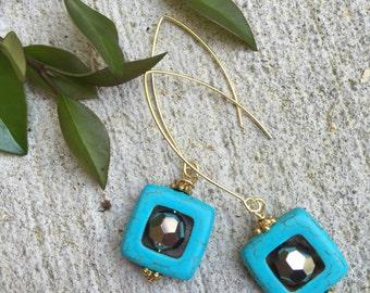 mk hicks drop earrings