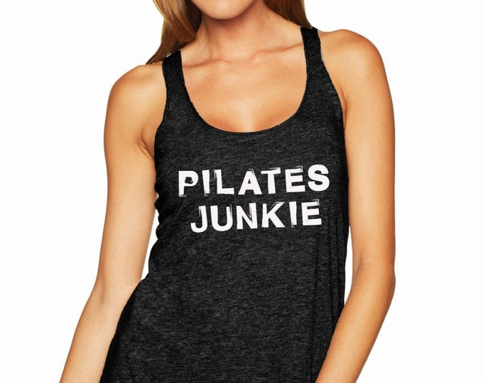 Pilates Junkie Racerback Tank Top
