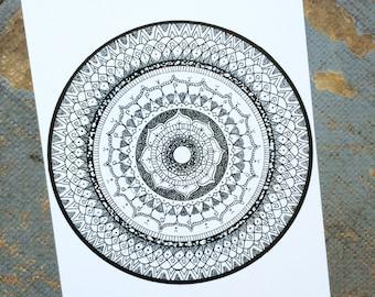 Flower Shower Mandala