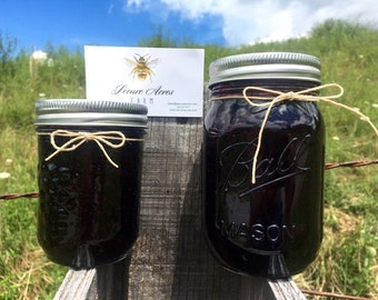 Fresh Appalachian Blueberry Jam~!  (Berries Recently Picked and Preserved)! Preserves