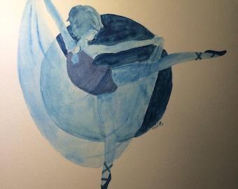 Dancing Blue Pearl