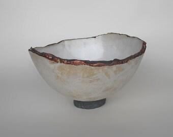 Stoneware food bowl