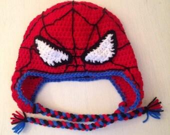 Spiderman Winter Hat