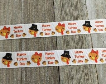 Thanksgiving Ribbon, Turkey Day ribbon