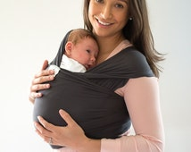 Baby Wrap, Organic baby carrier, Best Baby Shower gift,Ready to ship, Detailed written instructions