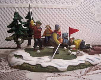Christmas Village Golfers