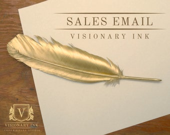 SALES EMAIL: M.A. Qualified Copywriting Service