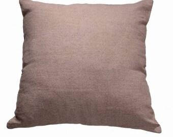 Plain Linen Cushion- Dusty Pink Cushion- Plain Cushion- Pink Pillow- Plain Pillow- Pink Throw Pillow- Pink Linen Cushion- Cushion Cover