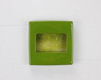 Mega Solo - Ceramic Planter - Green - Wall Planter