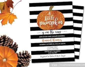 Pumpkin Baby Shower   Etsy