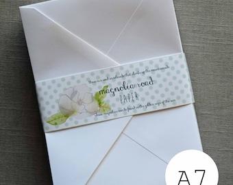 White Envelopes - 50pk A7 Envelopes - White Envelopes - Invitation envelopes white - 5x7 white envelopes