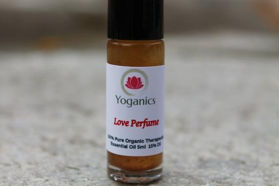 Love Perfume Essential Oil Roller Blend-Organic-GMO FREE -100 Organic-Women Perfume- Sweet - Floral - Sensual - Romance